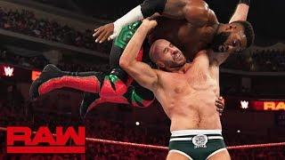 Cedric Alexander vs. Cesaro: Raw, April 22, 2019