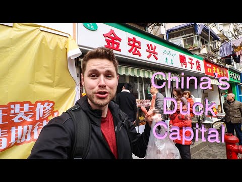 I ONLY ATE DUCK! A Whole Day Of Eating In China's Duck Capital: Nanjing, China