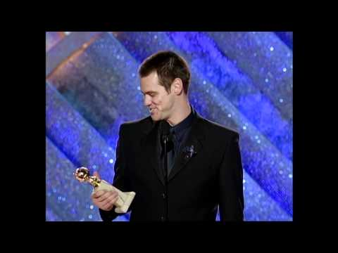 Jim Carrey Wins Best Actor Motion Picture Drama - Golden Globes 1999