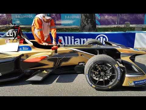 FORMULA E Grand Prix Santiago, autos ganadores a pit
