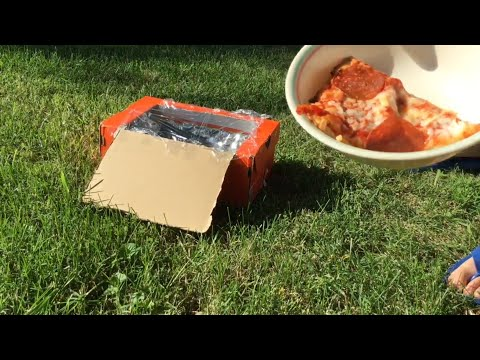 How To Make A Solar, Shoebox Microwave
