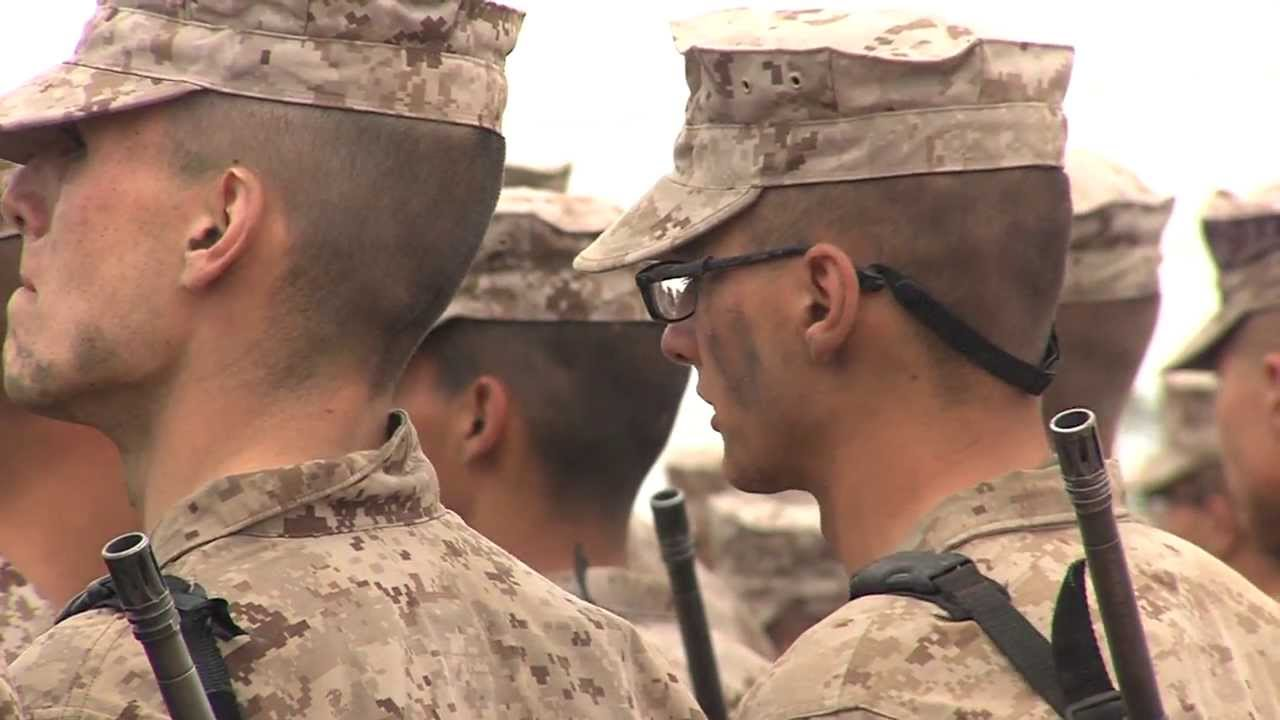 A Look Inside the Marine Corps Boot Camp And The Daunting ...