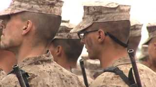 A Look Inside the Marine Corps Boot Camp And The Daunting Crucible - San Diego 2013