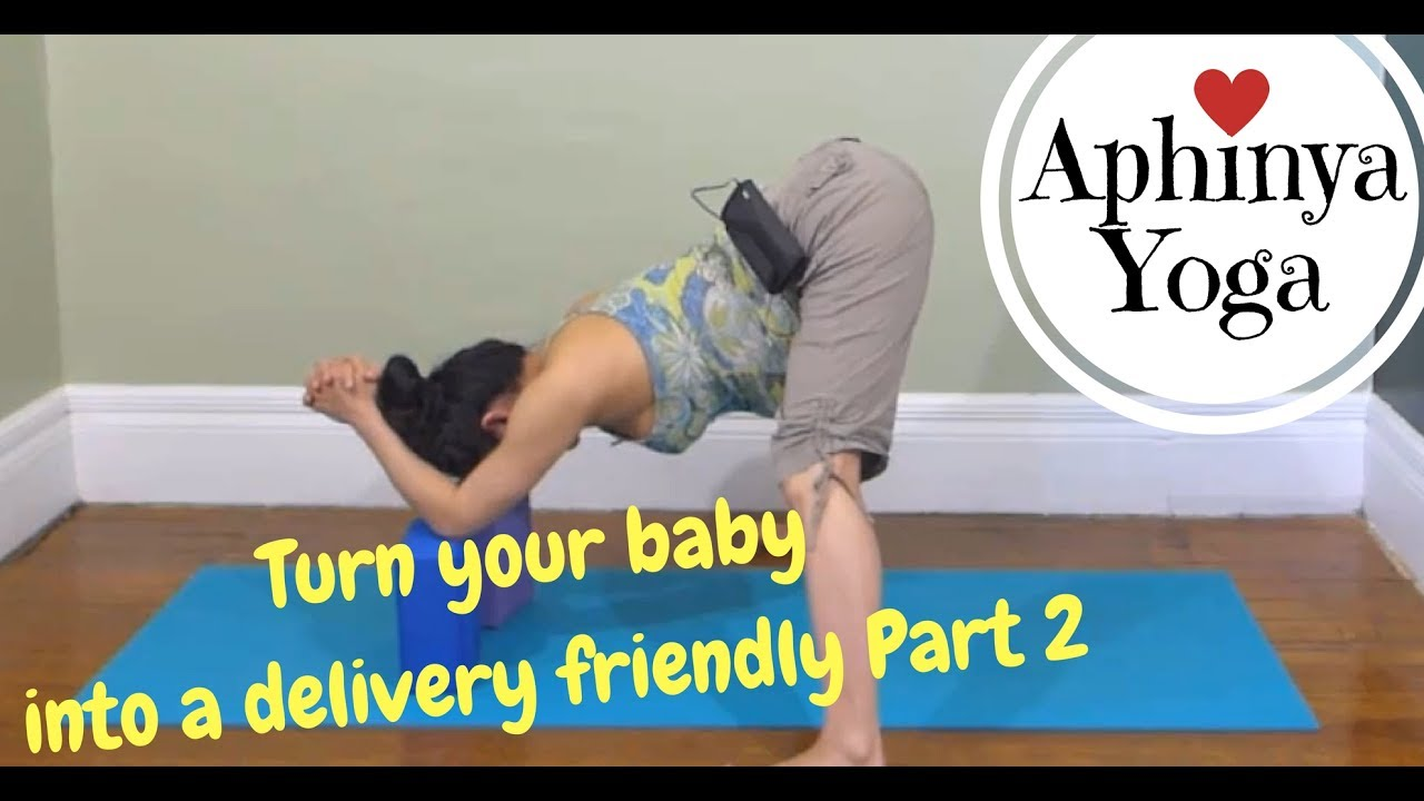 how to move a breech baby with exercise