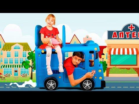 عجلات على الحافلة الحضانة القوافي أغنية للأطفال