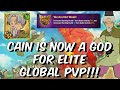Cain is now a GOD for Elite Global PVP - 100% WIN RATE VS THE ONE!! - Seven Deadly Sins: Grand Cross