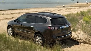 The All New 2015 Chevrolet Traverse Interior And Exterior Review