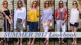 Summer Outfit Ideas! Lookbook Fashion Guide 2017