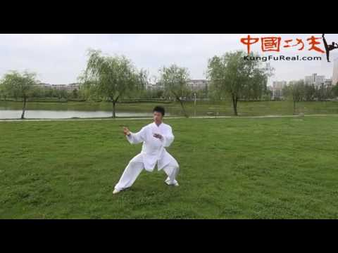 learn kungfu---chen tai chi 18 form practice video - YouTube
