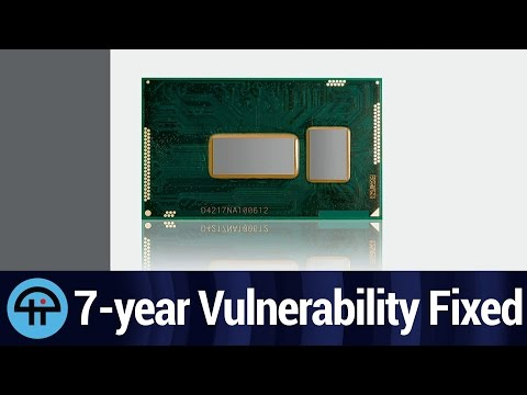 Intel Patches 7-year Vulnerability