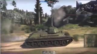 Танки в War Thunder   тест техники немецкая,русская ветка