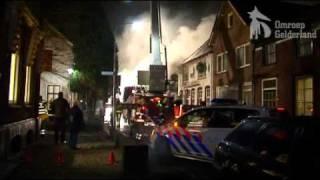 Brand Kerkdriel door kortsluiting
