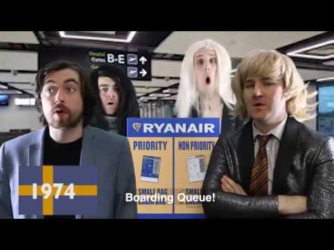 Ryanair's Cockpit Karaoke: Eurovision Special