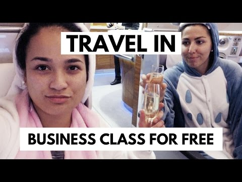 How to travel business class for free