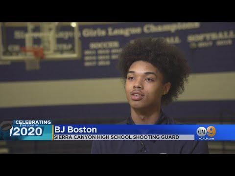 Class Of 2020: BJ Boston, Sierra Canyon School