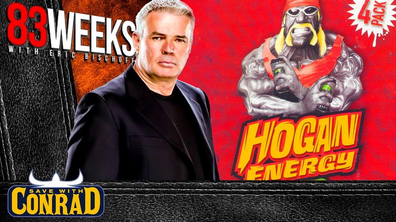 Eric Bischoff shoots on the Hulk Hogan Energy Drink
