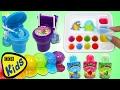 Kracie GUMMY LAND doces fazendo Kit, Kidsmania WC Flush Candy, Rainbow Slime jogar Espuma Skewers!