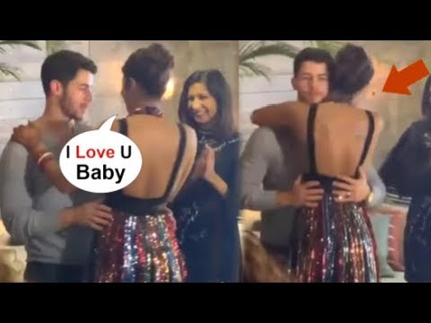 Priyanka Chopra Gets Emotional & Hugs Hubby Nick Jonas Front Of Media