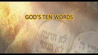 God's Ten Words