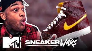 Custom Air Jordan 1 Challenge: Vick Almighty vs. THEHEYYMAN 👟MTV Sneaker Wars