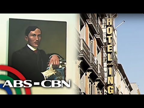 Bandila: Mga Dating Tambayan Ni Rizal Sa Espanya