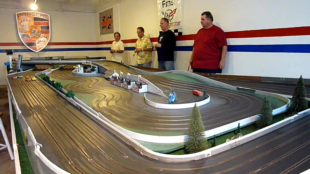 Slot car racing youtube