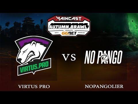 NoPangolier vs. Virtus.Pro - FINALS (BO5) | DOTA 2 Maincast Autumn Brawl