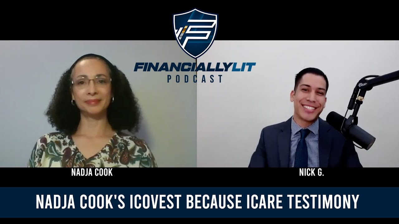 Welcome Nadja Cook! iCovest Because iCare Testimony