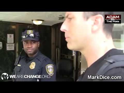Federal Reserve Police Confronted by these guys