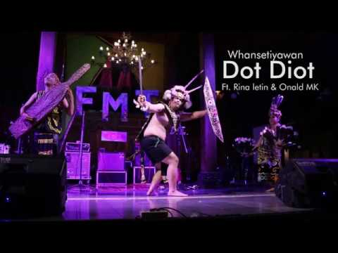 DOT DIOT dayak kenyah folk song (recycle) - Whansetiyawan ft. Onal MK & Rina Letin