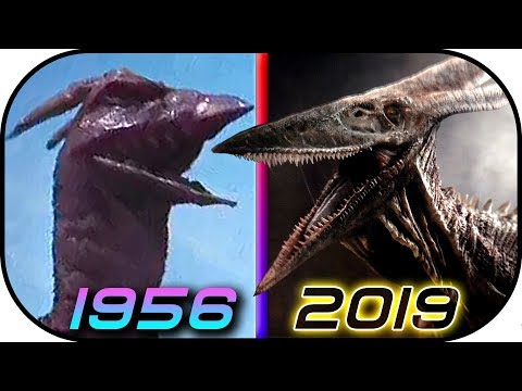 EVOLUTION of RODAN in Movies TV 1956-2019 Godzilla King of the Monsters trailer 2 Rodan scene clip