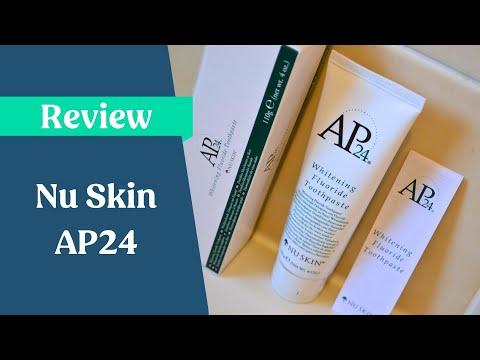 Nu Skin AP24 Fluoride Whitening Toothpaste Review