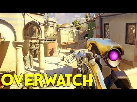 OVERWATCH! (Ninja / Sniper Gameplay)