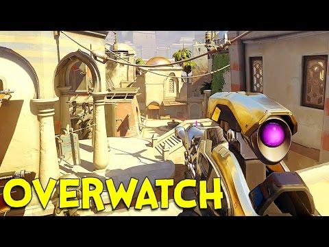 OVERWATCH! (Ninja / Sniper Gameplay) thumbnail