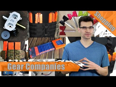 Nerf Gear Companies | Where you can buy purpose made nerf gear!