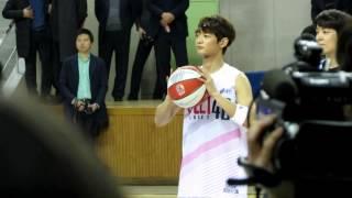 150115 한스타 연예인 농구대잔치 민호컷 01