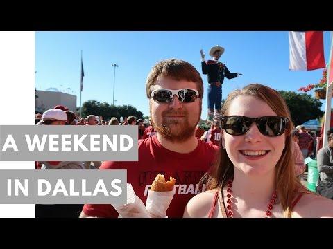A WEEKEND IN DALLAS: State Fair of Texas, OU vs. TX football game, Dallas Cowboys game!