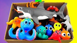 Learn Wild Zoo Animals names For Kids Sea Animals Learn Colors For Children