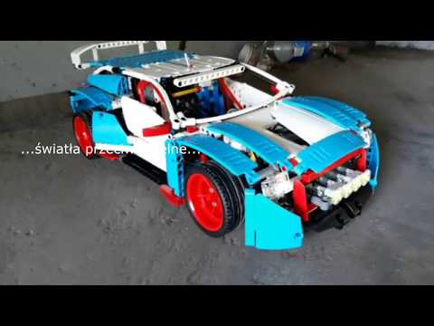 Oświetlenie full opcja LEGO Technic 42077