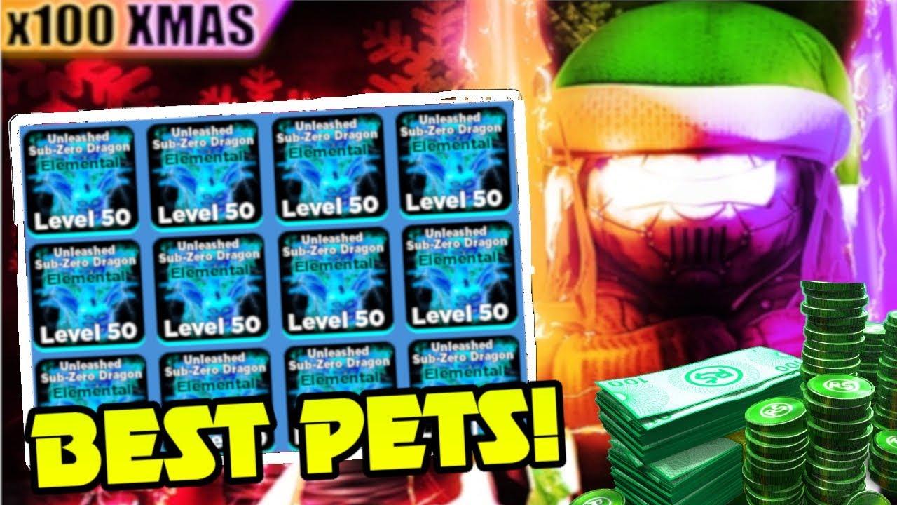 Best Free Elemental Pet Giveaways Roblox Ninja Legends