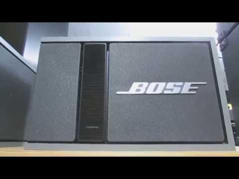 Bose 301 series II genuine speaker - HD 1080p