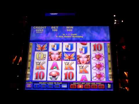 Butterfly Kisses Bonus Slot Win at Sands Casino
