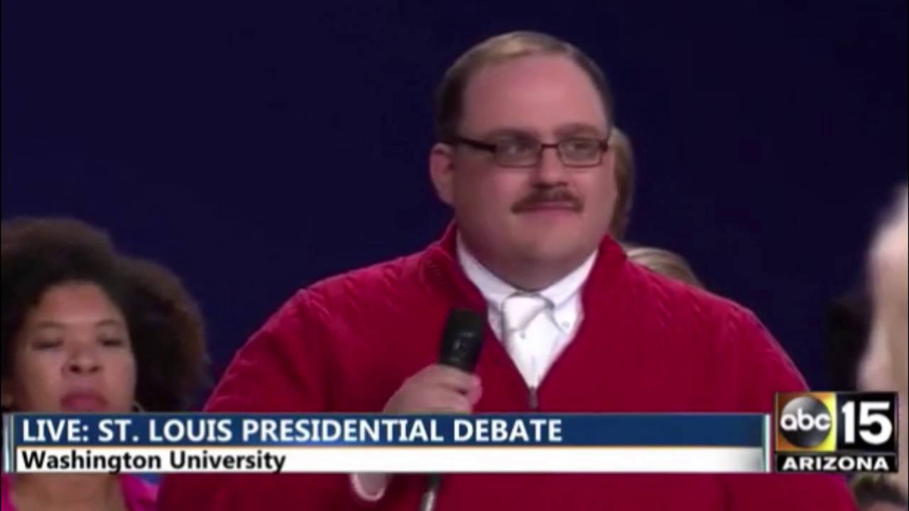 Ken Bone Gets Rudely Interrupted by Hillary Clinton And Donald ...