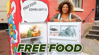 This Free Food Fridge Should Be Everywhere