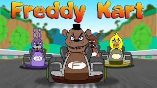 Freddy Kart Mario kart parody
