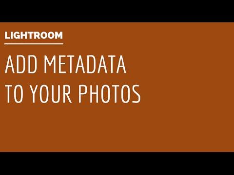 Lightroom - Add IPTC Metadata to Photos