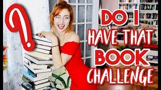 DO I HAVE THAT BOOK CHALLENGE!?