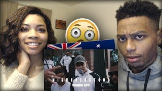 AMERICANS REACT to AUSTRALIAN RAP DRILL/GRIME ft. ONEFOUR, Youngn Lipz & MORE!