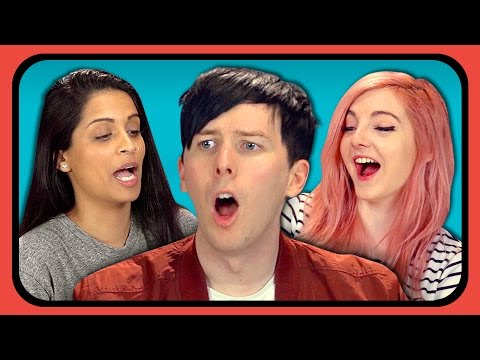 YouTubers React to Try to Watch This Without Laughing or Grinning #3