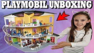 Playmobil Unboxing L Extension De La Maison Moderne 6554 Youtube